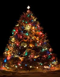 Old Fashioned Christmas Tree With Candles  YouTubeOld Style Christmas Tree Lights