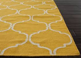flat weave rug yellow geometric area rug solid yellow pale yellow throw rug