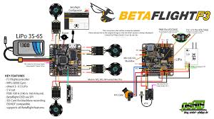 vector fpv wiring diagram wiring library betaflight f3 flight controller anschlussplan wiringplan drone diy quadcopter drone information technology
