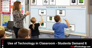 use of technology in classroom students demand it use of   the increased use of technology in
