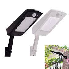 48 led motion sensor light solar lights 900lm lamp for outdoor wall garden yard waterproof rotable stick with four modes lights solar lights wall