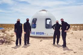 Jeff bezos, the founder of amazon and. Jeff Bezos S Blue Origin Says It Will Take A Civilian To Space In July Financial Times