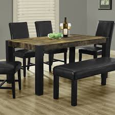 real rustic kitchen table long: i  distressed reclaimed look dining table
