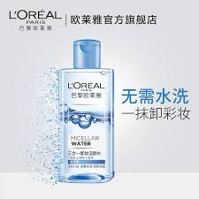 l oréal paris triple makeup remover cleansing water depth layer to clean face mild irritation free wash magic water