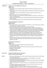 Resume Sample Engineering Engineering Technician Resume Samples Velvet Jobs 12