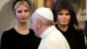 Resultado de imagem para trump at vatican