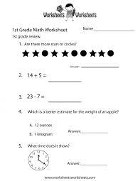 Kids. free printable subtraction worksheets for first grade: Grade ...