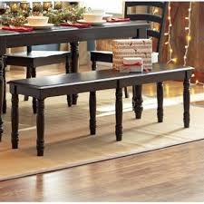 Dining room table bench Vintage Courtdale Wooden Bench Wayfair Bench For Dining Room Table Wayfair