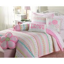 Size Twin Kids' Quilts For Less | Overstock.com & Cozy Line Greta Pastel Cotton Quilt Set Adamdwight.com