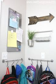 Command Strip Coat Rack DIY Ikea Mudroom Mudroom Spaces And Shelves 48