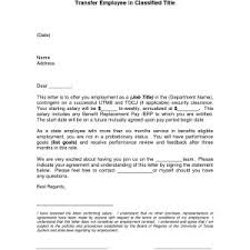 Employee Transfer Letter Pdf Letter For Employment Transfer Save Example Letter Job Transfer