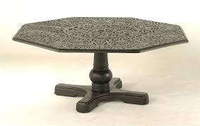 hanamint outdoor furniture awesome octagon table cau octagonal inlaid lazy replacement cushions