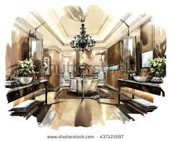 Interior design drawings perspective Apartment Interior Interior Design Sketches Sketch Perspective Interior Design Sketch Painting To Watercolors Interior Design Sketches For Beginners Pdf Thesynergistsorg Interior Design Sketches Sketch Perspective Interior Design Sketch