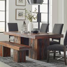 gray wood dining table. Scott Living Grey Sheesham Wood Dining Table Gray