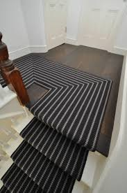 ... Mudroom Captivating Carpet Runners On Stairs Mudrooms  Mudroomcaptivating Black And White Striped Runner Absorbent Polyester  Fabric ...