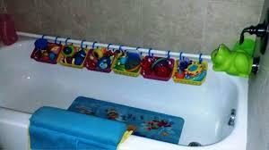 image of best bath toy organizer
