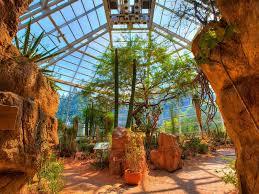desert pavilion at the brooklyn botanical garden