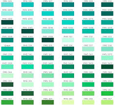 Color Chart With Names Awesome Shade Of Green Color Name Palette Hue Blog Pantone
