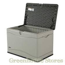 outdoor storage boxes plastic. lifetime 300 litre plastic outdoor storage box open lid boxes t