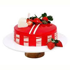 Buy Satin Strawberry Cake Half Kg Online In Bangalore Order Satin