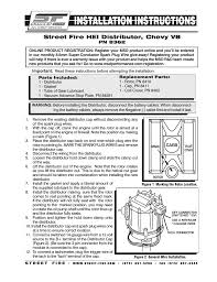 gm hei wiring harness small car wiring diagram download Ford Hei Distributor Wiring Diagram msd 8362 street fire chevrolet v8 gm hei distributor installation page1 gm cap and rotor wiring ford 302 hei distributor wiring diagram