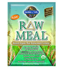 garden of life raw meal powder sachet unflavoured 85g