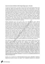 new kingdom mark essay year hsc ancient history  new kingdom 25 mark essay