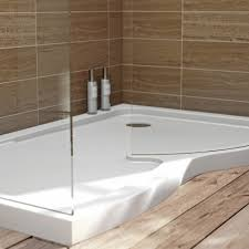 Walk In Shower Enclosure 6mm Curved Rh Walk In Shower Enclosure With Tray 1400x900