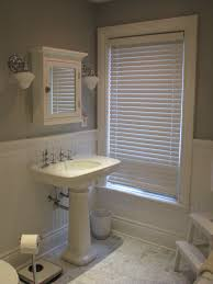 Tile In Bathroom Wood Wainscoting Vs Subway Tile In Master Bath