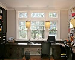 trendy custom built home office furniture. trendy builtin desk home office photo in boston custom built furniture