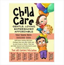 Childcare Flyers Daycare Flyer Templates Mark Design