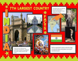 Make A Poster About India Facts School Project Poster Ideas