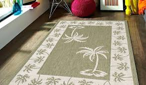 outdoor rugs elegant designer tropical coastal palm tree indoor area rug backyard furniture donation t