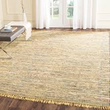 area rugs kellerman contemporary hand woven cotton yellow area rug