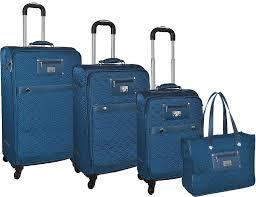 Adrienne Vittadini Quilted 4-Piece Lightweight Luggage Set &  Adamdwight.com