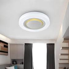 designer home lighting. 18W Led Ceiling Lamps Modern Bedroom Living Room Stair Kitchen Acrylic Light Fixtures White Iron Indoor Home Lighting 220V Designer