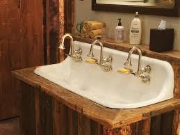 classic cast iron bathroom sink