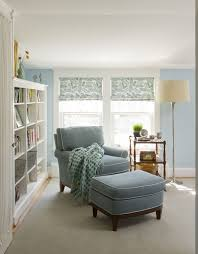 Furniture Small Reading Room Simple Reading Room Reading Corner At Home  Blue Single Reading Chair Blue