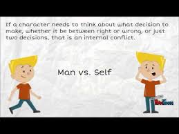 internal and external conflict lesson video