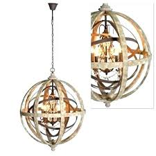 wooden orb chandelier round wood chandelier large round wooden orb chandelier with metal orb detail and for wood and wood and iron orb chandelier