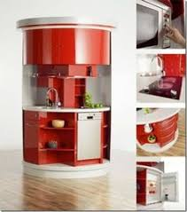 compact furniture small spaces. Amazing Clever Space Saving Ideas For Small Room Layouts :  For With White Red Luxury Rounded Kitchen Island Compact Furniture Small Spaces H