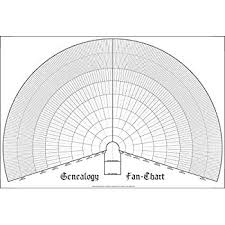Masthof Ten Generation Ancestry Pedigree Fan Chart Blank Family History Genealogy Ancestor Form