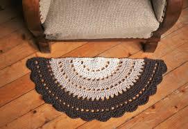 half round rugs ideas