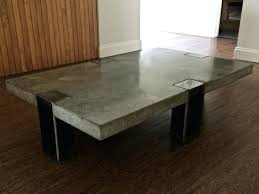 concrete coffee table and wood avis rectangle furniture