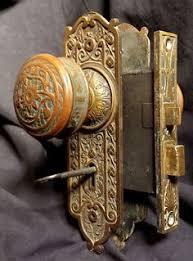 antique door knobs hardware. Simple Door RARE Antique Victorian Cast Bronze Interior Door Lockset Set Knob Plate  Lock Key To Knobs Hardware