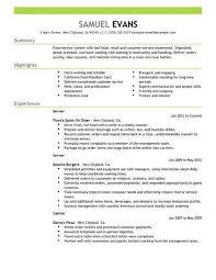 Restaurant Resume Template Restaurant 4 Resume Examples Resume Examples Resume Resume