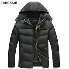 2018 new winter jacket middle age men plus thick warm coat jacket men s business casual hooded slim coat black size 4xl uk 2019 from macloth