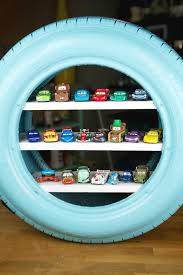 tire hotwheels diy display case