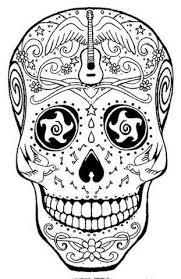 Small Picture Free Printable Skull Coloring Pages for Kids Painting and