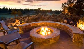 fire pit outdoor fireplace